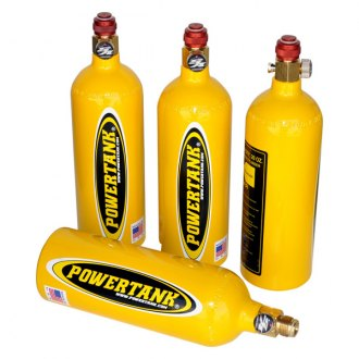Power Tank® - 1.25# CO2 Tanks with Valve Kit, Team Yellow