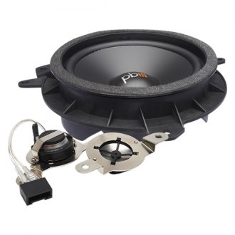 PowerBass® - Front & Rear OEM Replacement Component Speaker System