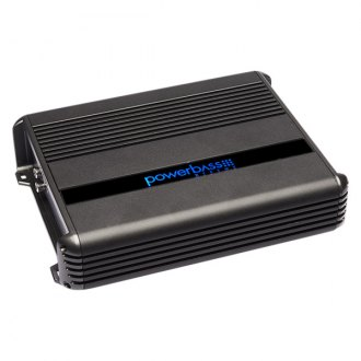 PowerBass® - XMA Series 2-Channel 1600W Full Range Mini Amplifier