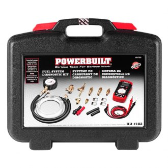 Powerbuilt® - Fuel System Diagnostic Kit