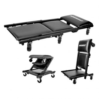 Powerbuilt® - 3-In-1 Creeper Seat with Tray 40""
