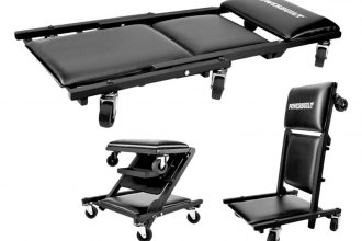 Powerbuilt® - 3-In-1 Creeper Seat with Tray - 40""