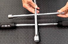 Powerbuilt Wheel Lug Wrench