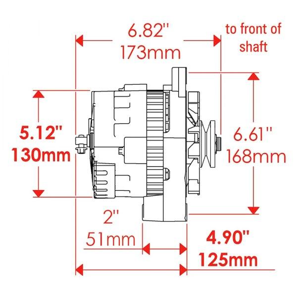 Powermaster Alternator Wiring Diagram