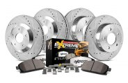 PowerStop® - 1-Click Vented Extreme Truck and Tow Brake Kit