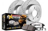 PowerStop® - 1-Click Solid Extreme Truck and Tow Rear Brake Kit
