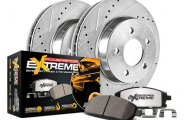 PowerStop® - 1-Click Vented Extreme Truck and Tow Rear Brake Kit