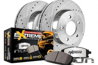 PowerStop® K2046-36 - 1-Click Extreme Z36 Truck and Tow Drilled and Slotted Rear Brake Kit