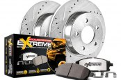 PowerStop® - 1-Click Extreme Z36 Truck and Tow Drilled and Slotted Brake Kit