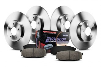 PowerStop® - 1-Click Solid OE Replacement Brake Kit
