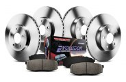 PowerStop® - 1-Click Vented OE Replacement Brake Kit