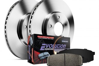PowerStop® - 1-Click OE Replacement Front Brake Kit