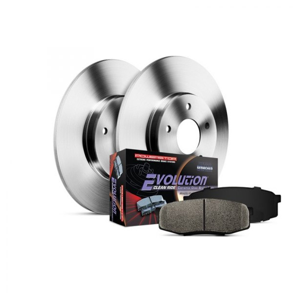 Power Stop® - 1-Click Autospecialty Front Brake Kit without Calipers
