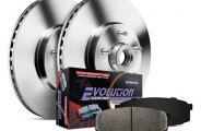 PowerStop® - 1-Click Vented OE Replacement Front Hub and Rotor Assemblies Brake Kit