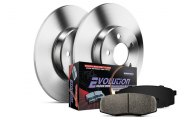 PowerStop® - 1-Click Solid OE Replacement Rear Brake Kit