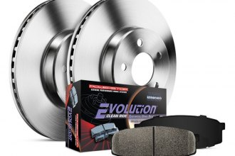 PowerStop® - 1-Click Vented OE Replacement Rear Brake Kit