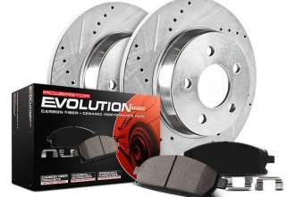PowerStop® K2318 - 1-Click Z23 Evolution Sport Solid Drilled and Slotted Rear Brake Kit