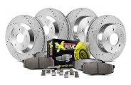PowerStop® - 1-Click Vented Street Warrior Z26 Brake Kit