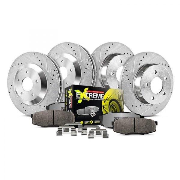 Power Stop 1-Click Brake Kit K2840