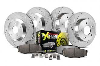 PowerStop® - 1-Click Street Warrior Z26 Brake Kit
