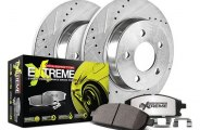 PowerStop® - 1-Click Solid Street Warrior Z26 Rear Brake Kit