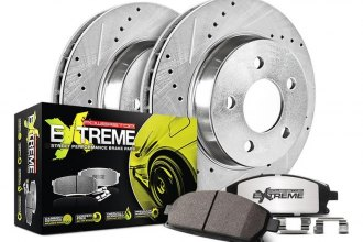 PowerStop® K179-26 - 1-Click Street Warrior Z26 Drilled and Slotted Rear Brake Kit