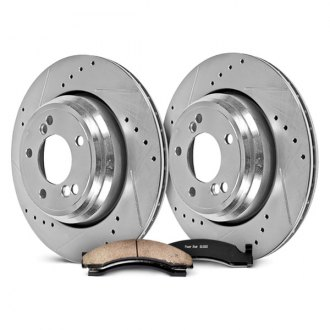 PowerStop® - 1-Click Extreme Truck and Tow Rear Brake Kit