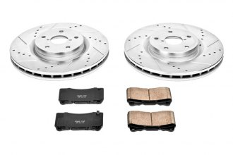 PowerStop® K131 - 1-Click Vented Front Brake Kit W/O Calipers (326mm OD, PCD: 5x114.30)
