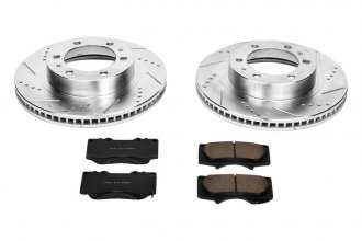 PowerStop® K137 - 1-Click Vented Front Brake Kit W/O Calipers (319mm OD, PCD: 6x139.70)
