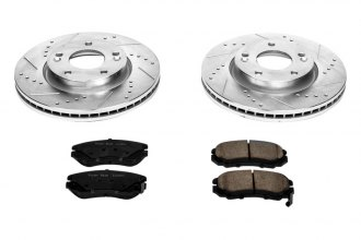 PowerStop® - 1-Click Vented Front Brake Kit