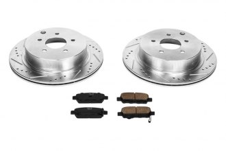 PowerStop® - 1-Click Vented Rear Brake Kit