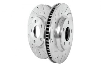 PowerStop� - Drilled and Slotted Rotors