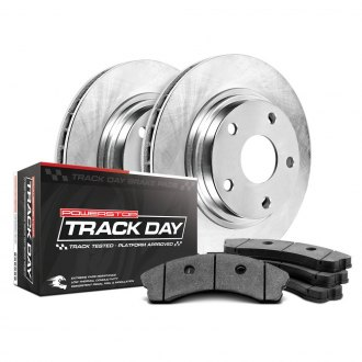 Power Stop® - Track Day Plain Brake Kit