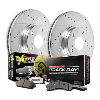 Power Stop® - Track & Street Drilled and Slotted Brake Kit