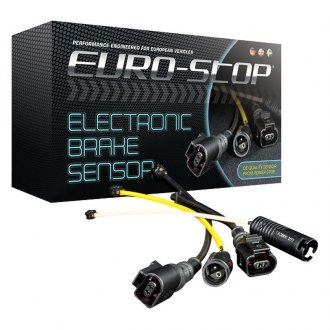 Power Stop® - Euro-Stop™ Front Brake Pad Electronic Wear Sensor