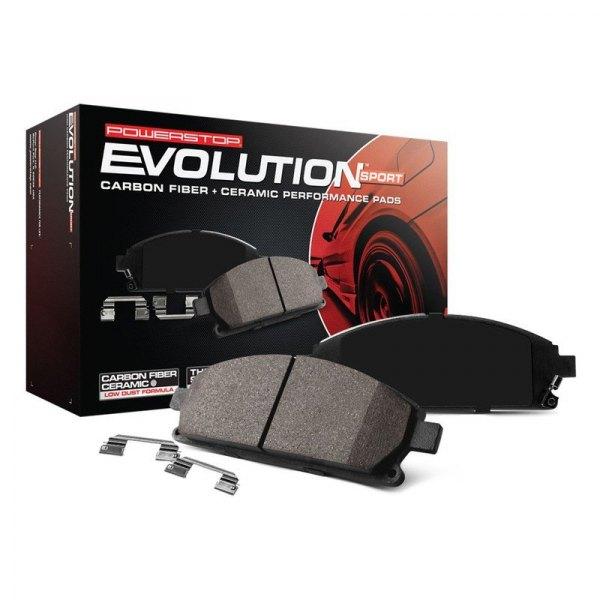 Power Stop 174 Z23 Evolution Sport Performance Carbon Fiber