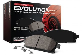 Power Stop® - Z23 Evolution Sport Performance Carbon-Fiber Ceramic Front Brake Pads