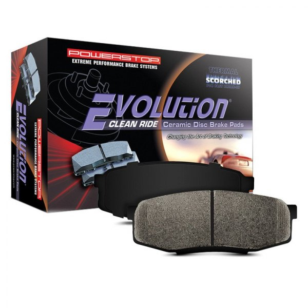 Power Stop® - Evolution Clean Ride Ceramic Front Brake Pads