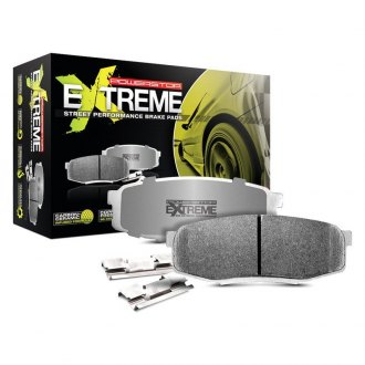 Power Stop® - Z26 Extreme Street Performance Carbon-Fiber Ceramic Front Brake Pads