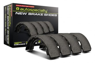 PowerStop® - Autospecialty Bonded Rear Drum Brake Shoes