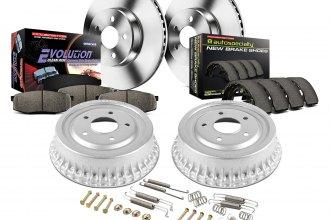 Power Stop KOE701 Rear 1-Click OE Replacement Brake Kit for Honda Accord