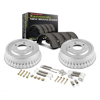 Power Stop® - 1-Click Daily Driver Rear Drum and Shoe Kit