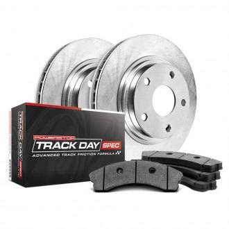 PowerStop® - Track Day Spec Plain Brake Kit