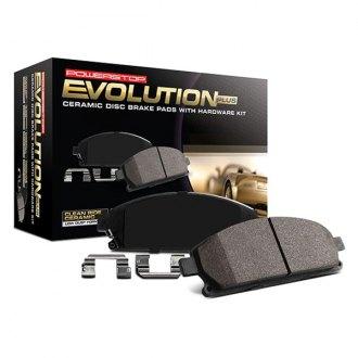 Power Stop 17-839A Z17 Evolution Plus Brake Pad