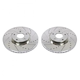 PowerStop® - Drilled and Slotted Front Rotor