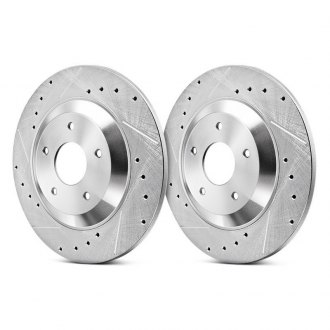 Power Stop® - Evolution Performance Drilled and Slotted 1-Piece Brake Rotors