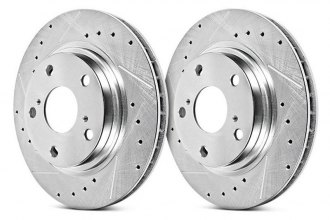 Power Stop® - Drilled and Slotted Rotors
