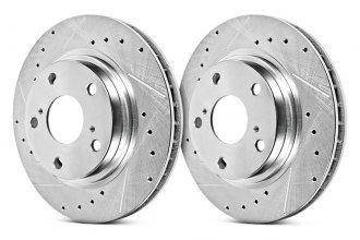 PowerStop® - Evolution Drilled and Slotted Performance Front Rotors