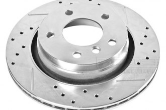 PowerStop® EBR631XR - Drilled and Slotted Rear Passenger Side Rotor