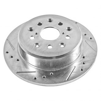 PowerStop® - Drilled and Slotted Rear Driver Side Rotor